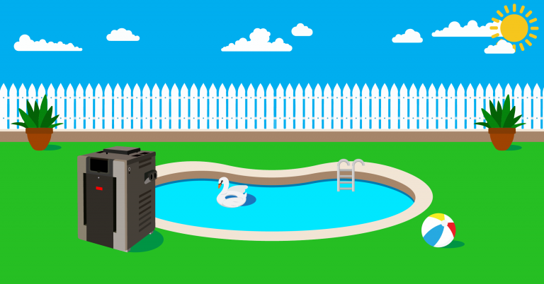 natural gas pool heaters